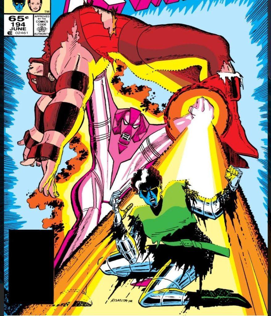 Nimrod vs Juggernaut and the X-Men