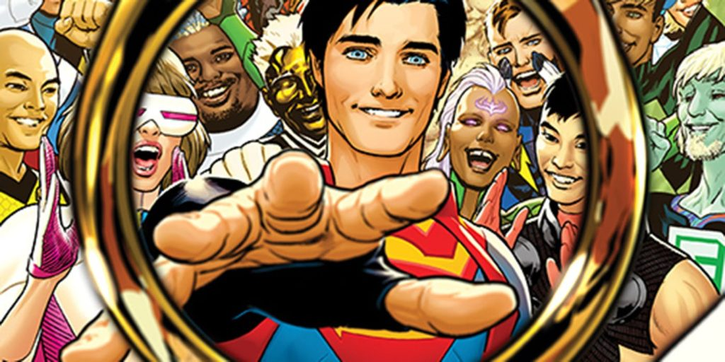 Superboy reaches for his Legion flight ring