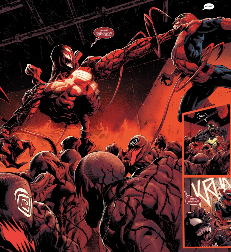 Absolute Carnage vs Spider-Man