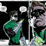 Hal Jordan is looking for planet Earth in The Green Lantern