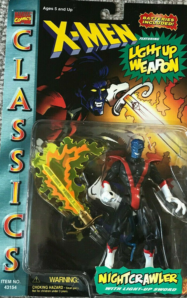 Nightcrawler action figure from the 90s