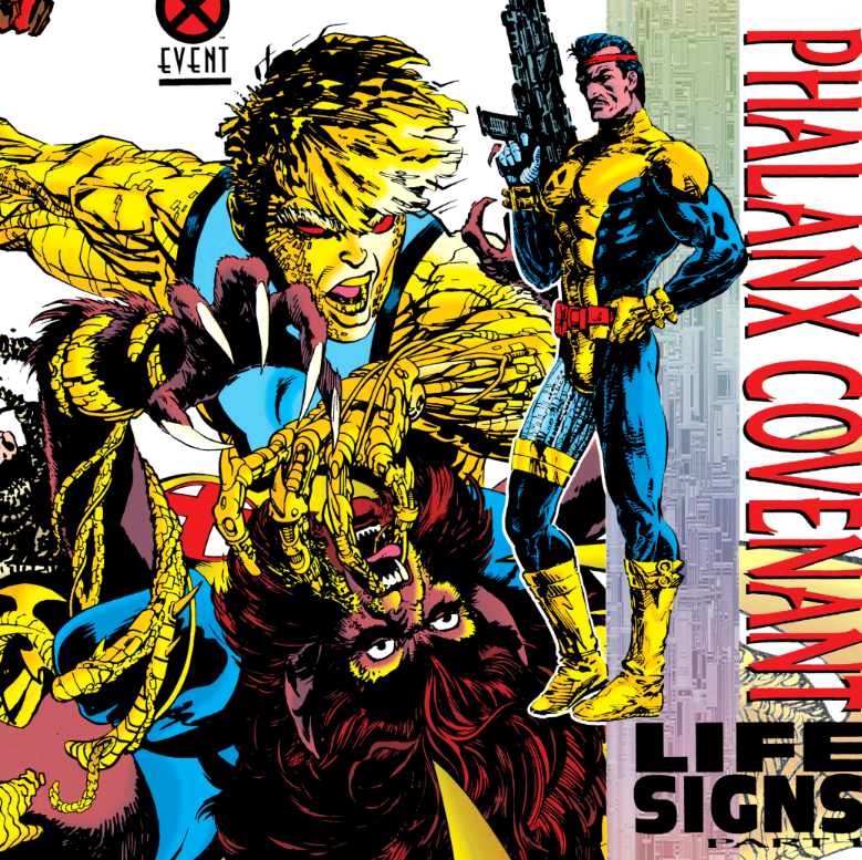 The Phalanx Covenant in 90s X-Men comic books like this one, X-Factor #70