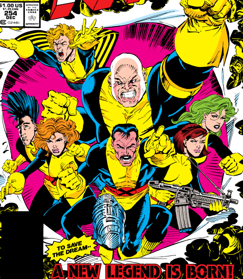 Moira and the Muir Island X-Men