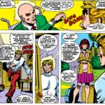 The debut of Moira MacTaggert in Uncanny X-Men