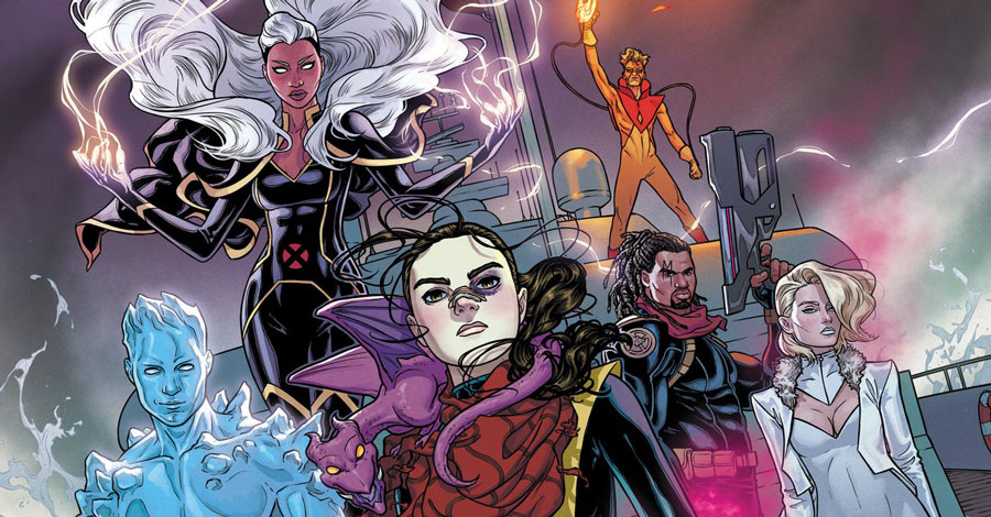 Kitty Pryde and the Marauders in Dawn of X