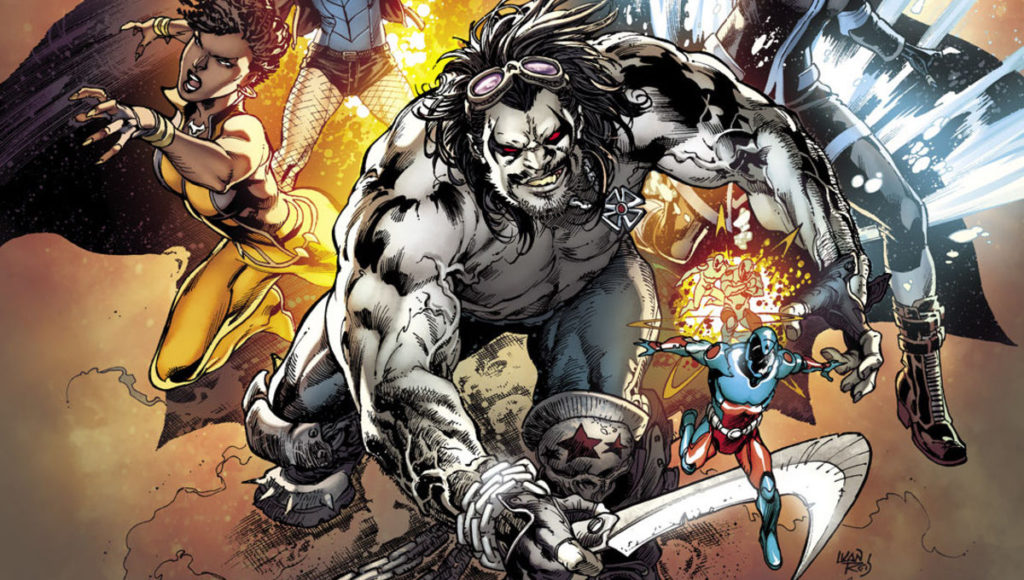 Lobo in the Justice League of America