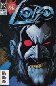 Lobo's first comic book mini series