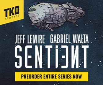 Sentient by Jeff Lemire and Gabriel Walta