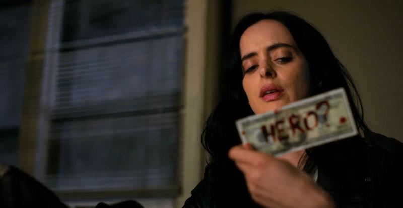 Jessica Jones confronts a serial killer in season three