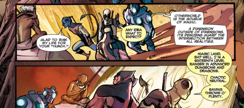 Deadpool's Otherworld Vacation