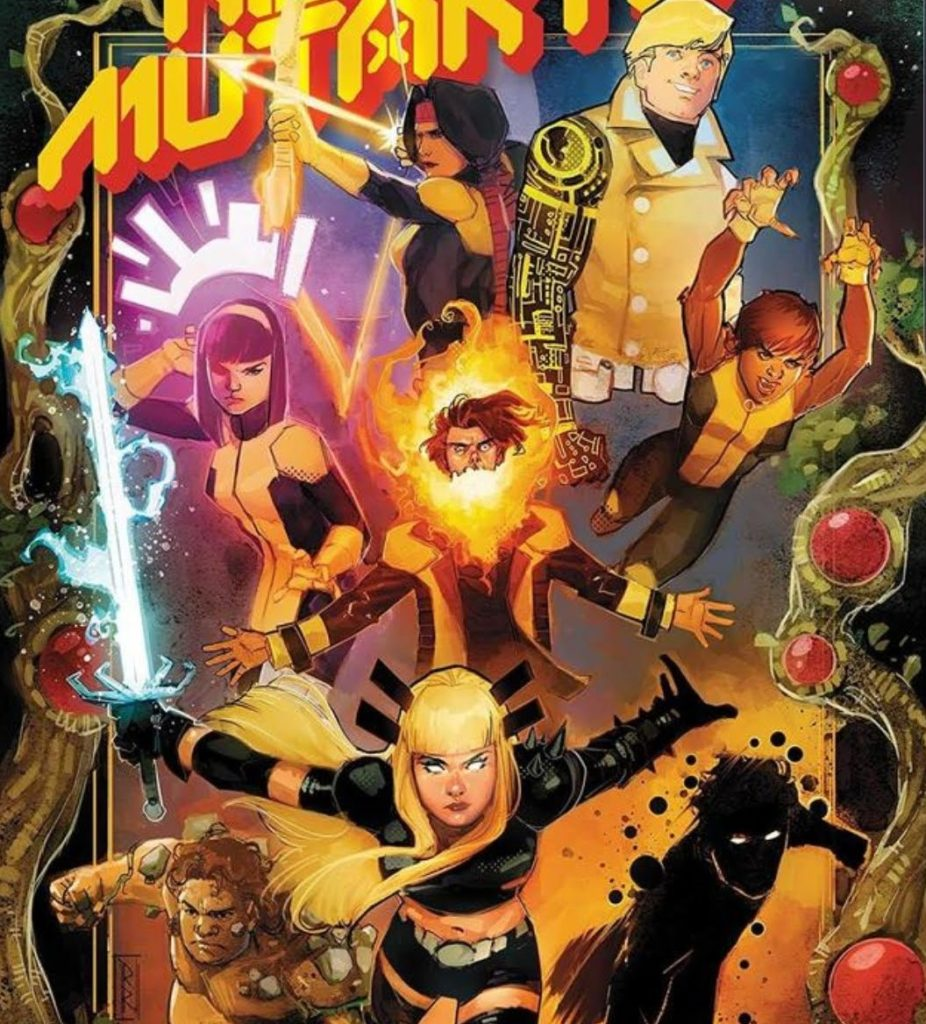 Chamber and Mondo on the Dawn of X New Mutants roster