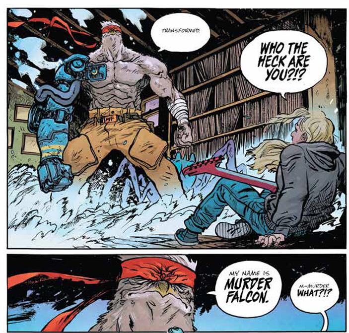 Murder Falcon comic book