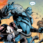 Punisher vs Frost Giant in War of the Realms