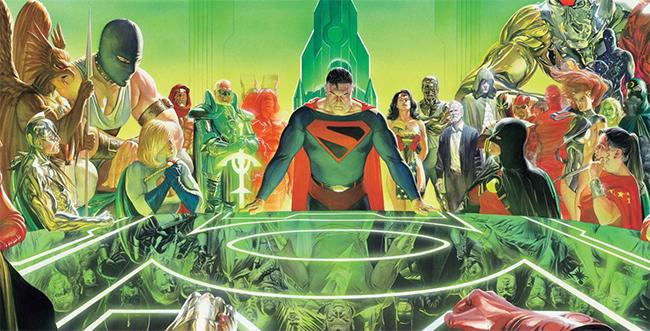 DC Kingdom Come graphic novel