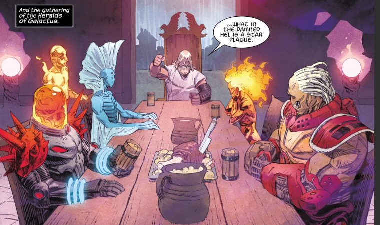 Heralds of Galactus in Thor #1