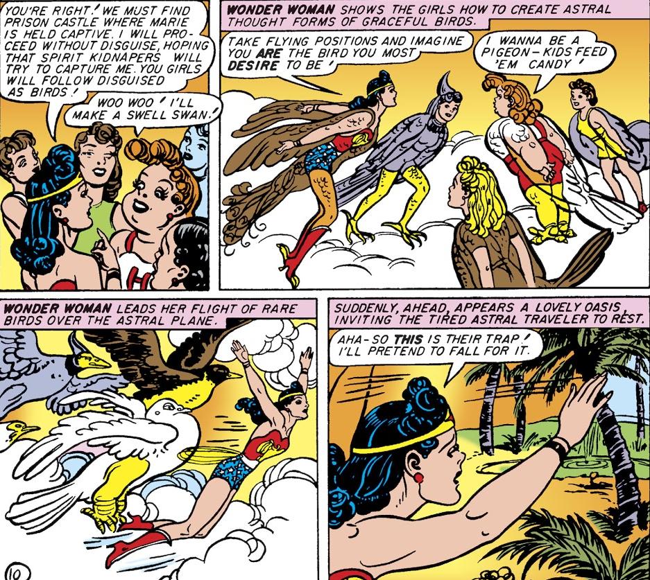 Wonder Woman and Etta