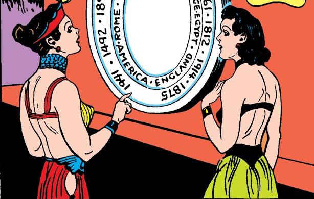 Queen Hippolyta in Golden Age Wonder Woman Comics