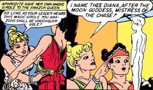 Golden Age Wonder Woman Aphrodite