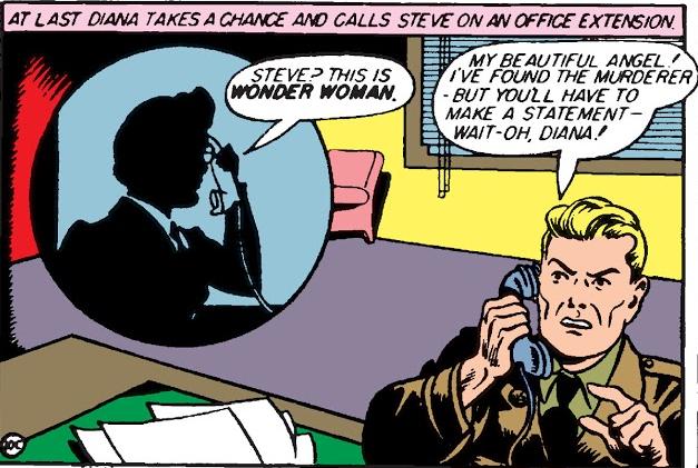 Steve Trevor's in trouble again