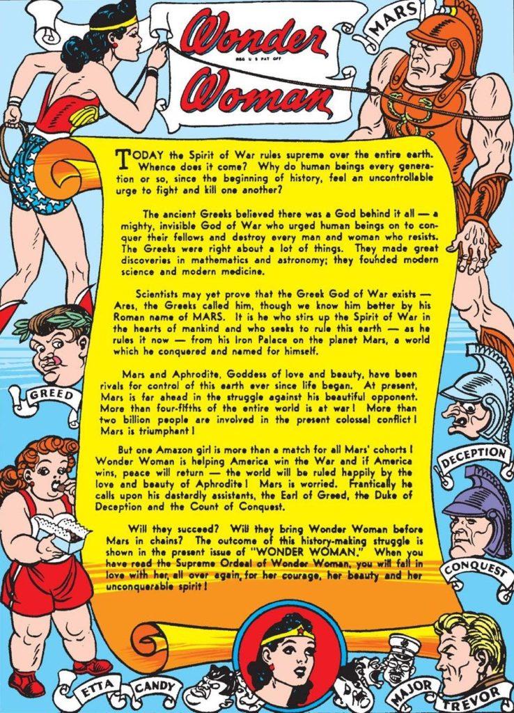 Wonder Woman's Mission