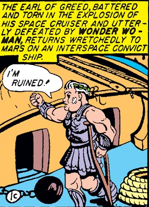 Wonder Woman beats up capitalism
