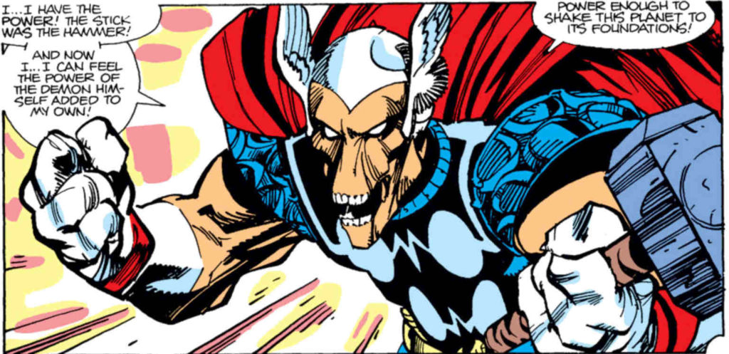 Beta Ray Bill in the pages of Thor comics