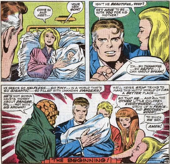 Franklin Richards is born