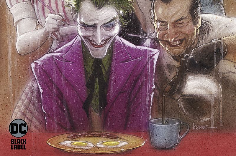 Joker Killer Smile by Jeff Lemire