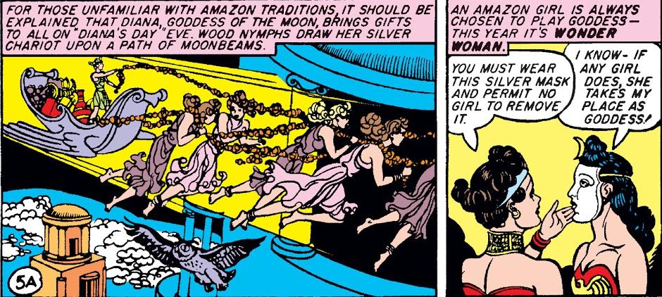 Diana celebrating Amazon holidays