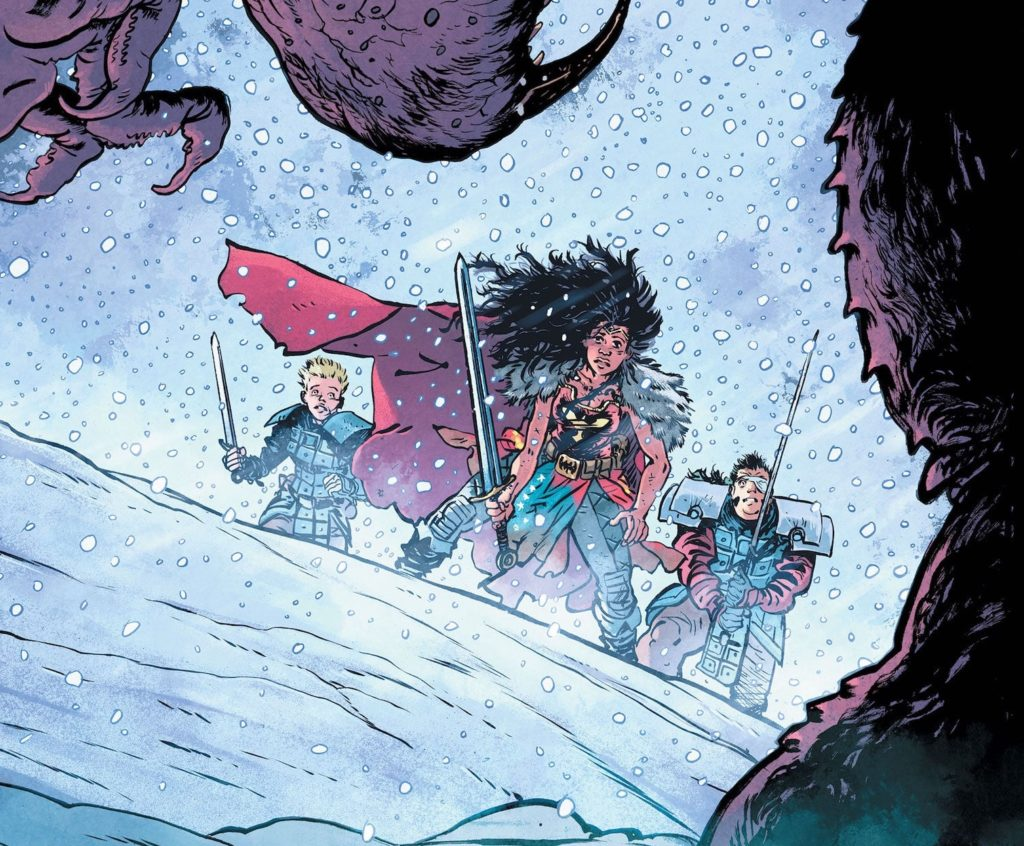 Daniel Warren Johnson on Wonder Woman prestige comics