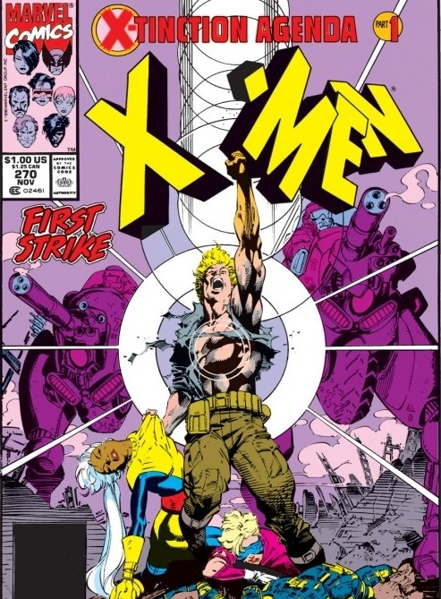 Havok in X-Men X-Tinction Agenda