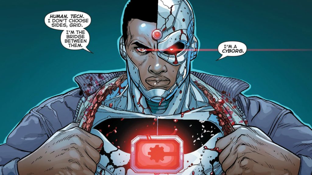 Cyborg and Justice League Comics