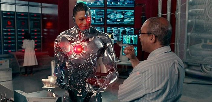 Cyborg in DC Movies