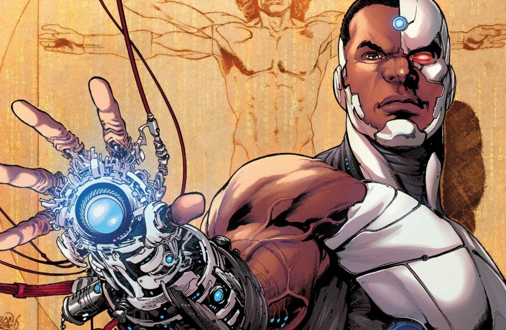 Cyborg comic books