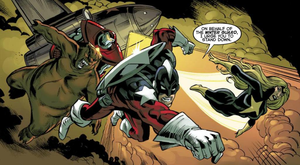 Marvel's Winter Guard