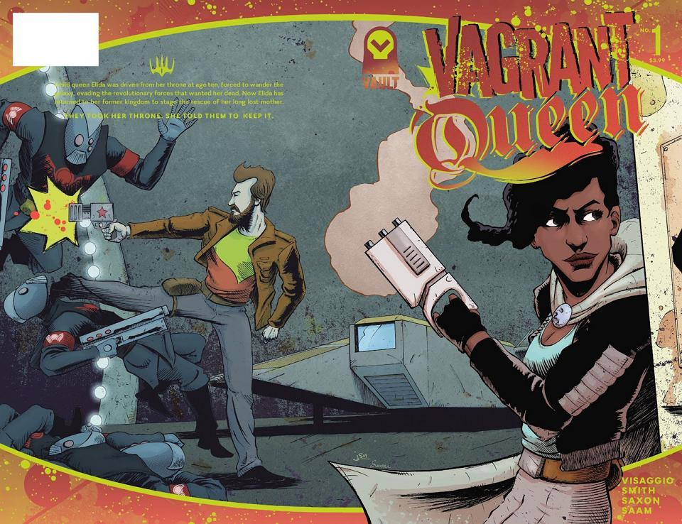 Vagrant Queen from Vault Comics