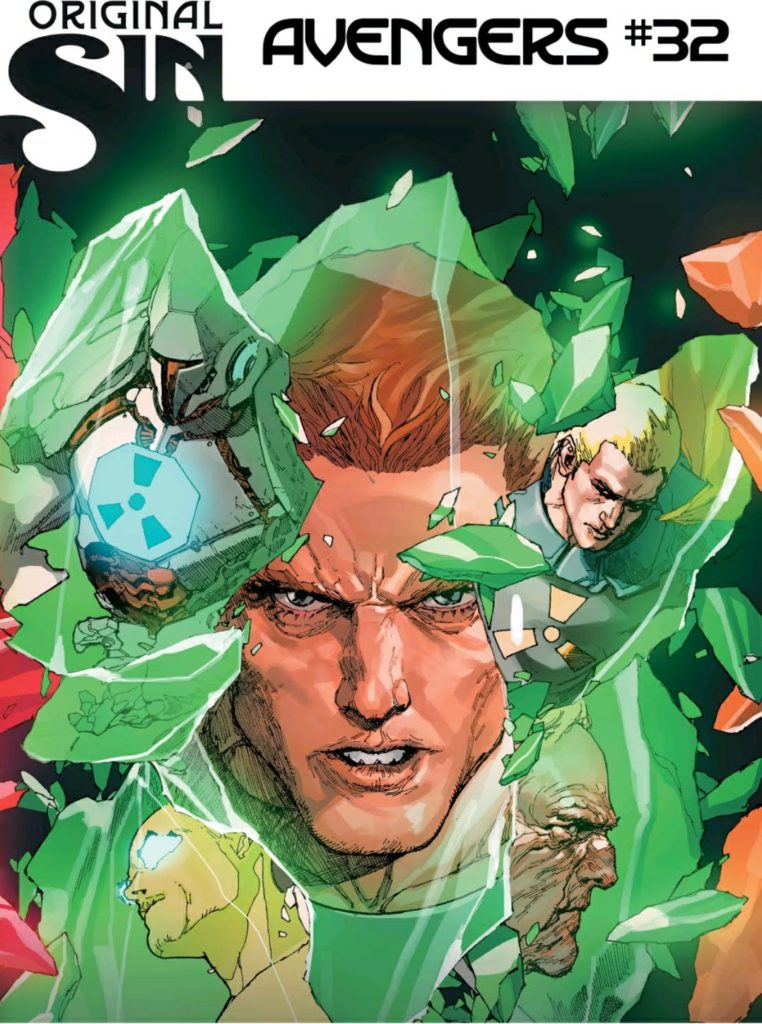 Avengers 32 Comic Cover