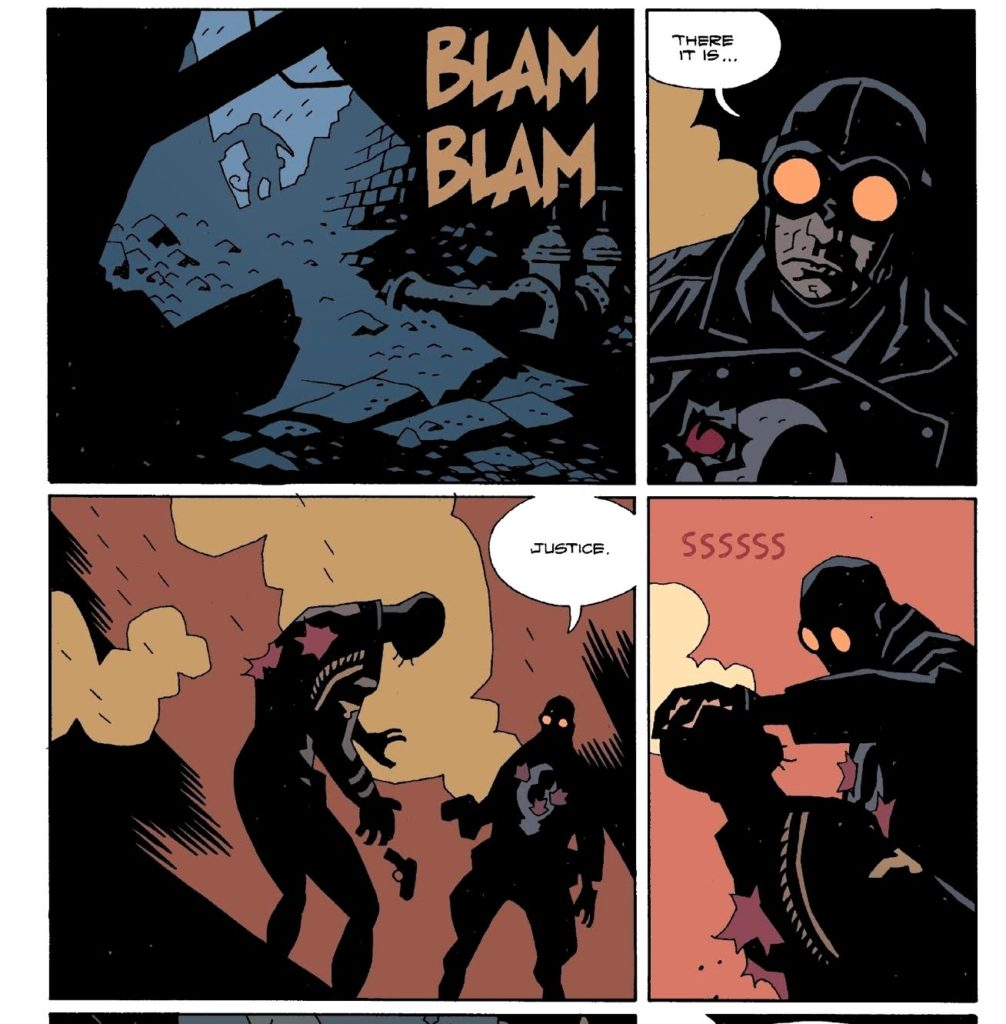 Lobster Johnson dolls out his own justice in Hellboy