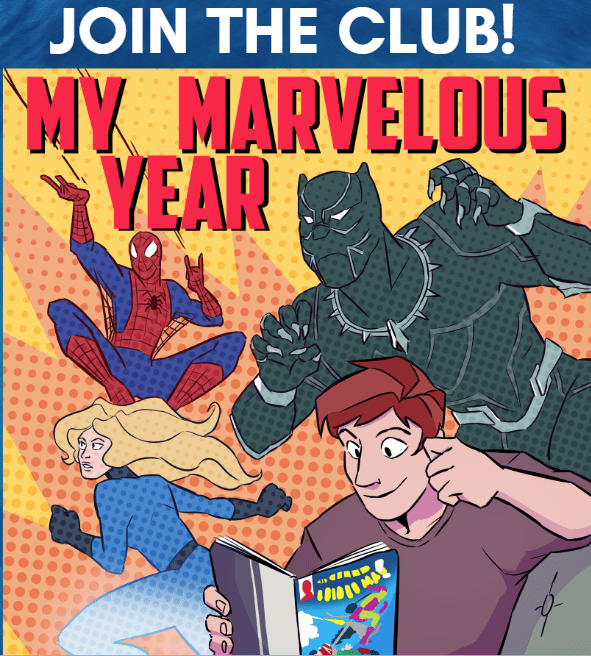 My Marvelous Year Podcast and Reading Club 1