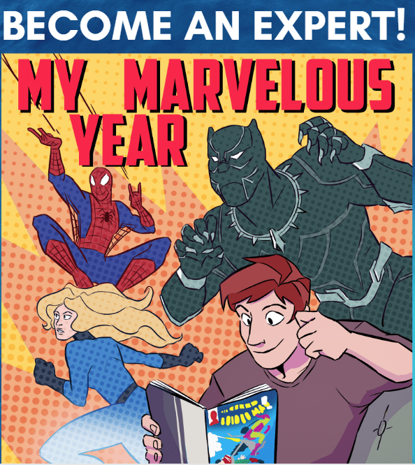 My Marvelous Year reading club helps Marvel fans become comic book experts