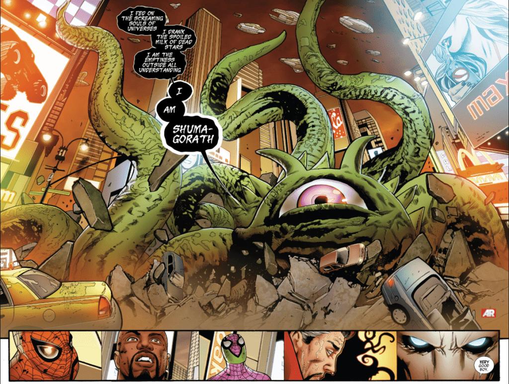 Shuma Gorath Marvel