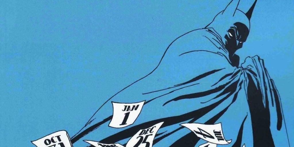 Batman comics in Long Halloween by Jeph Loeb