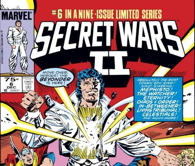 Secret Wars II Cover