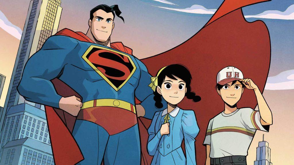 Gene Luen Yang and Gurihiru's Superman Smashes the Klan comics from DC