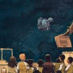 Kids watch space in Sentient graphic novel