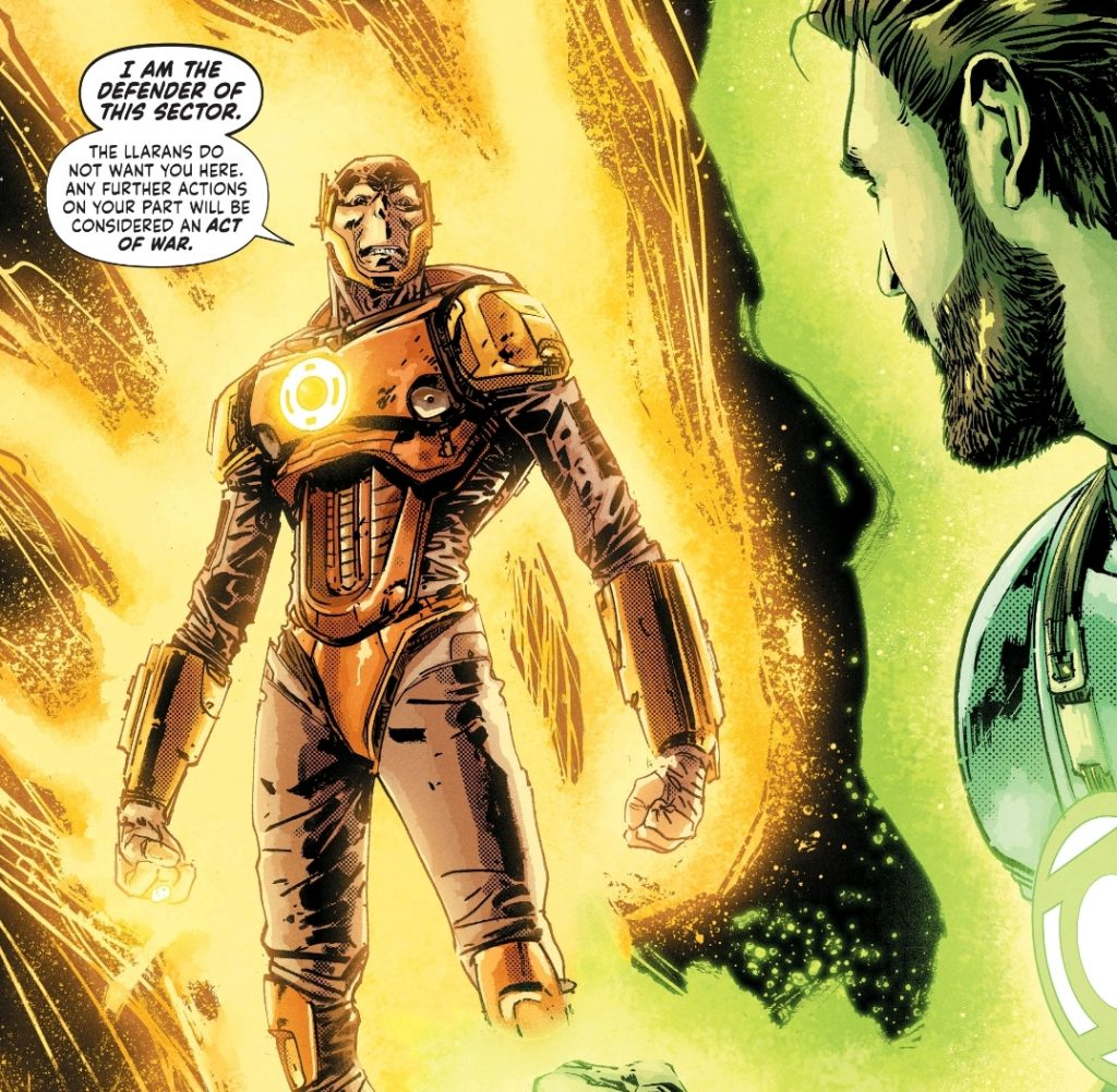 Yellow Lanterns in Green Lantern Earth One Vol 2
