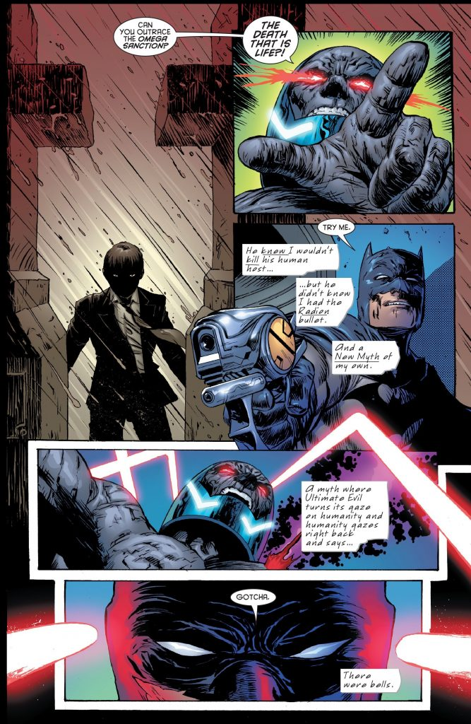Final Crisis Batman vs Darkseid