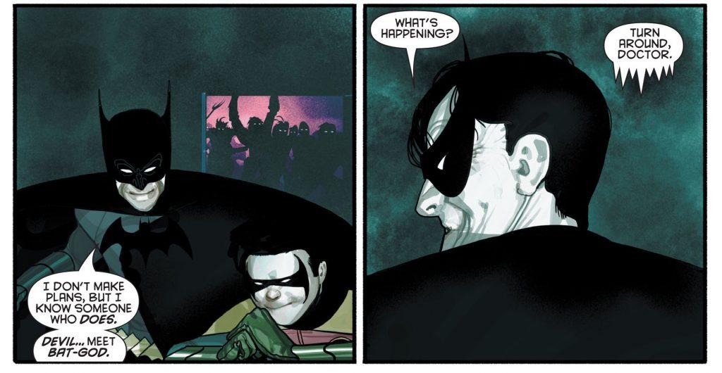 batman doctor hurt