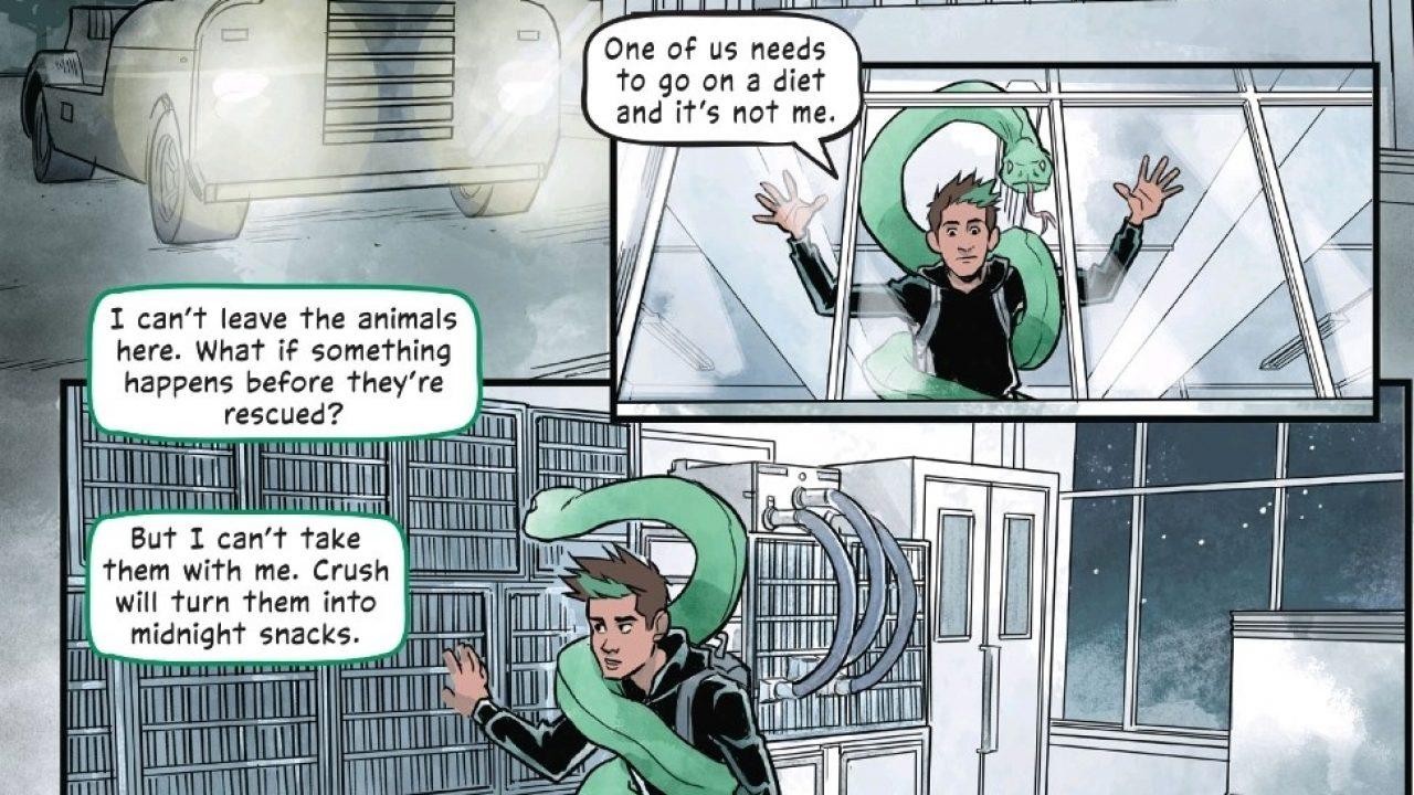 Teen Titans: Beast Boy -- Graphic Novel Review!   Comic Book Herald