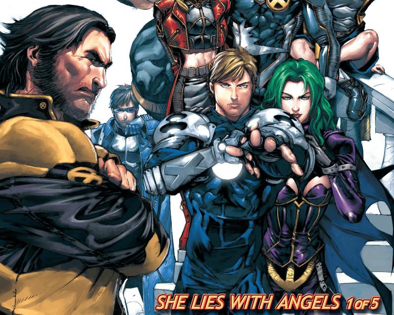 Chuck Austen X-Men she lies with angels
